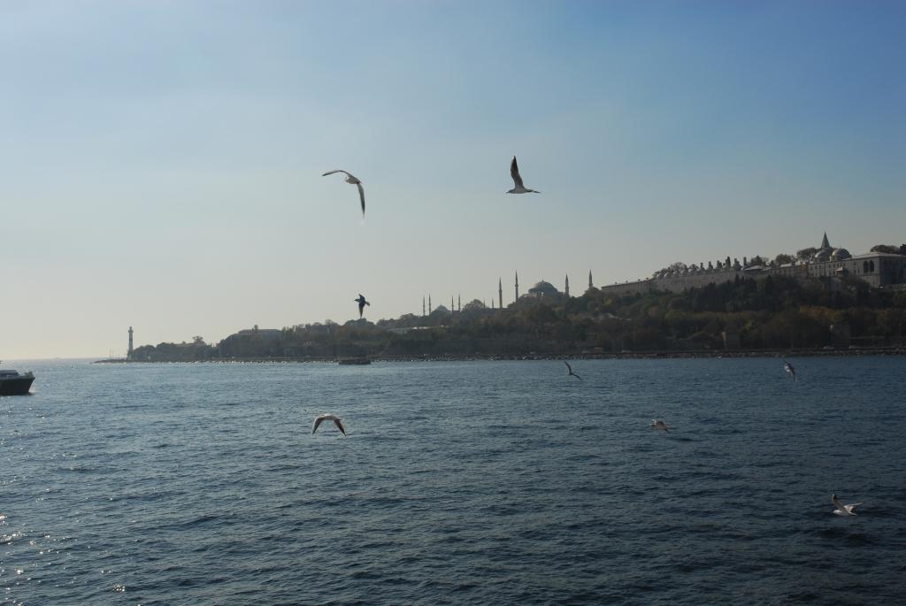 Von der Fähre nach Kadaköy