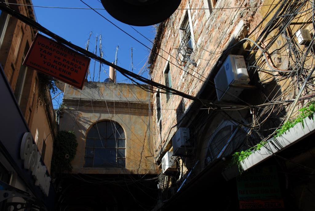 Kabelsalat in istanbul