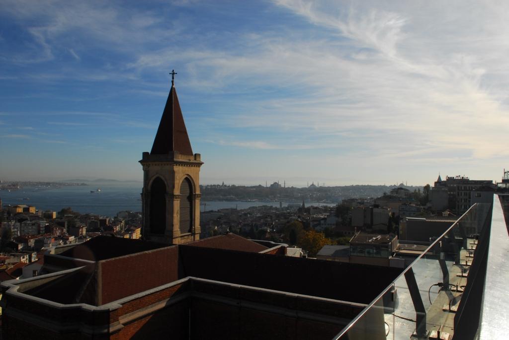Aussicht vom Restaurant und Bar 360 Grad in der Istiklal Caddesi