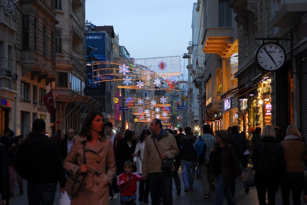 Vor Weihnachten in Istanbul