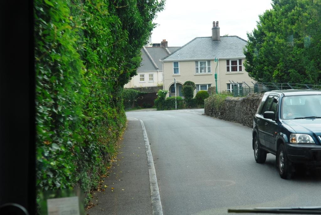 Busfahren auf Guernsey