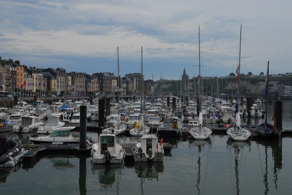 Im Hafen von Dieppe