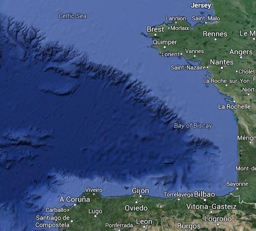 Biskaya - Bay of Biscay