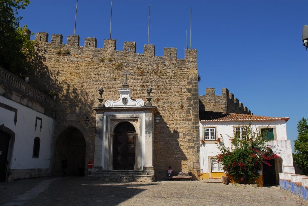 Eingang nach Óbidos