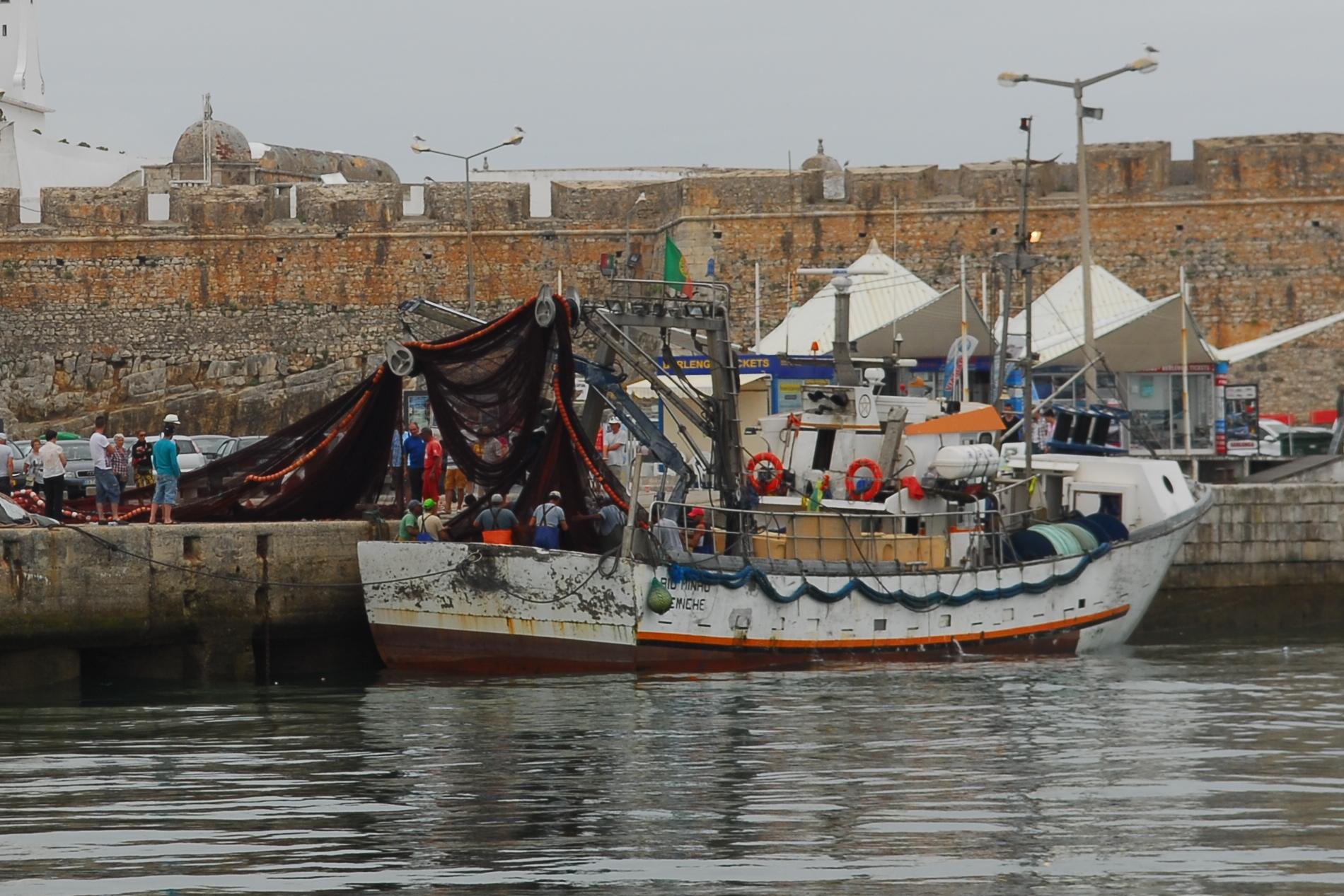 Fischerboot in Peniche