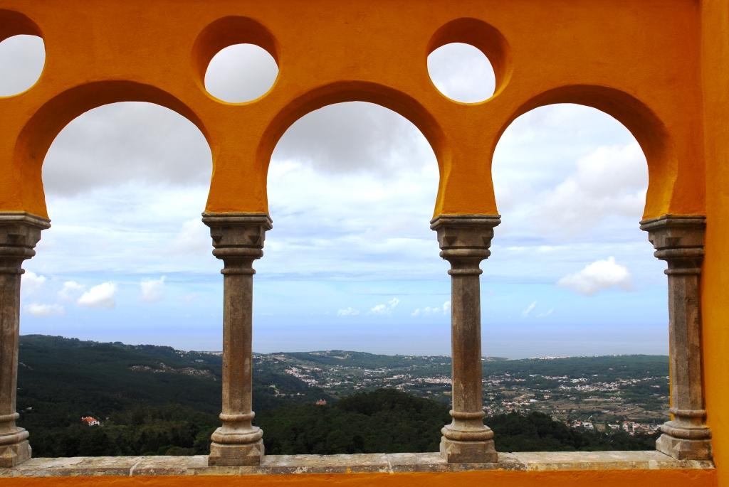 Blick vom Palácio Nacional da Pena