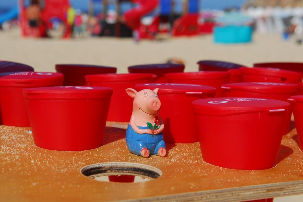 Gustav gibt das Rauchen auf - Strandaschenbecher