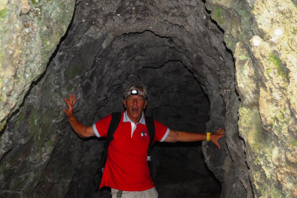 Tomy hat auch Höhlenangst