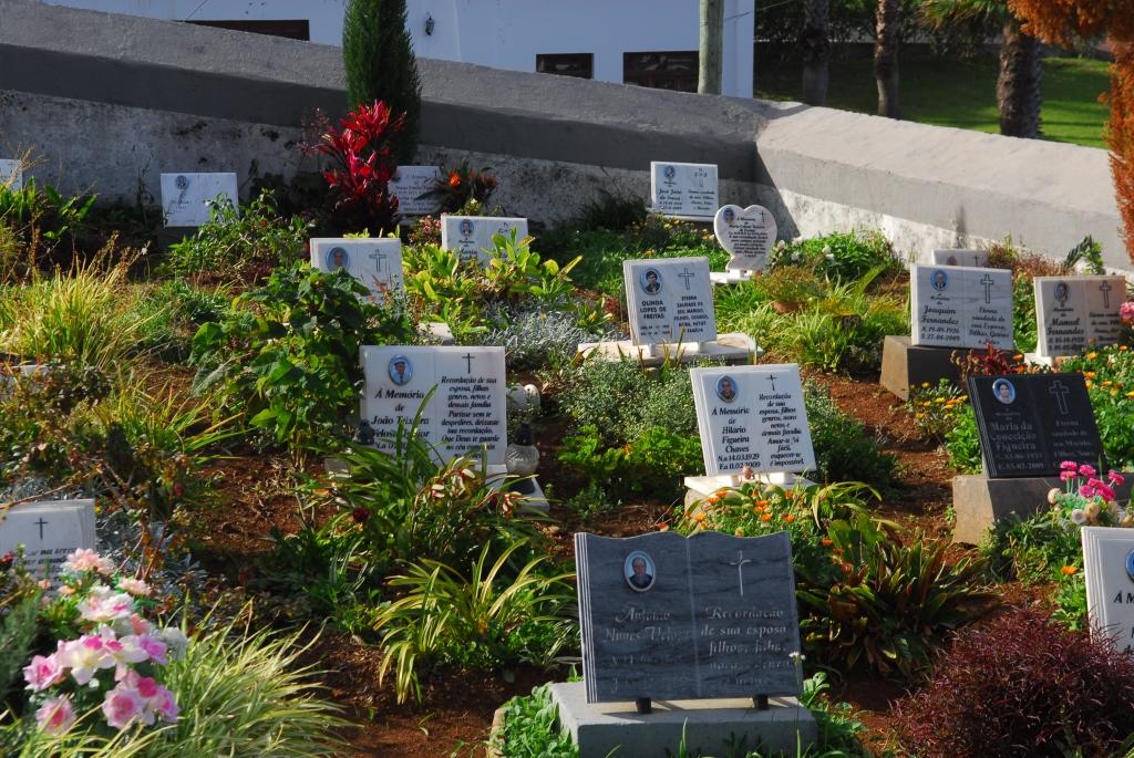 Auf Madeira liegen die Toten in Beeten