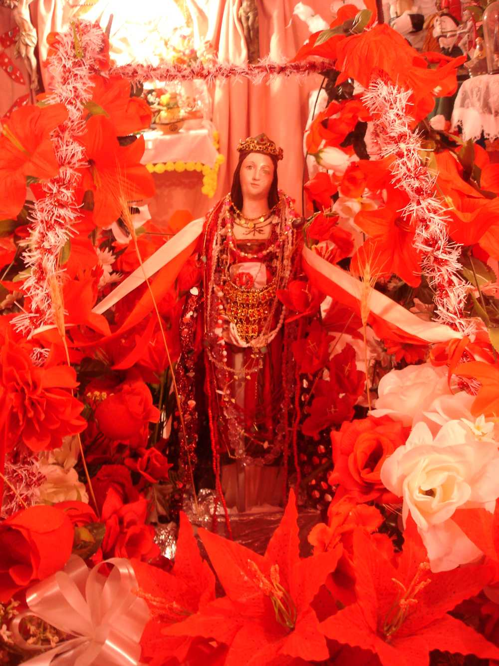 Shrine for Iansa/St. Barbara in Rio Vermelho