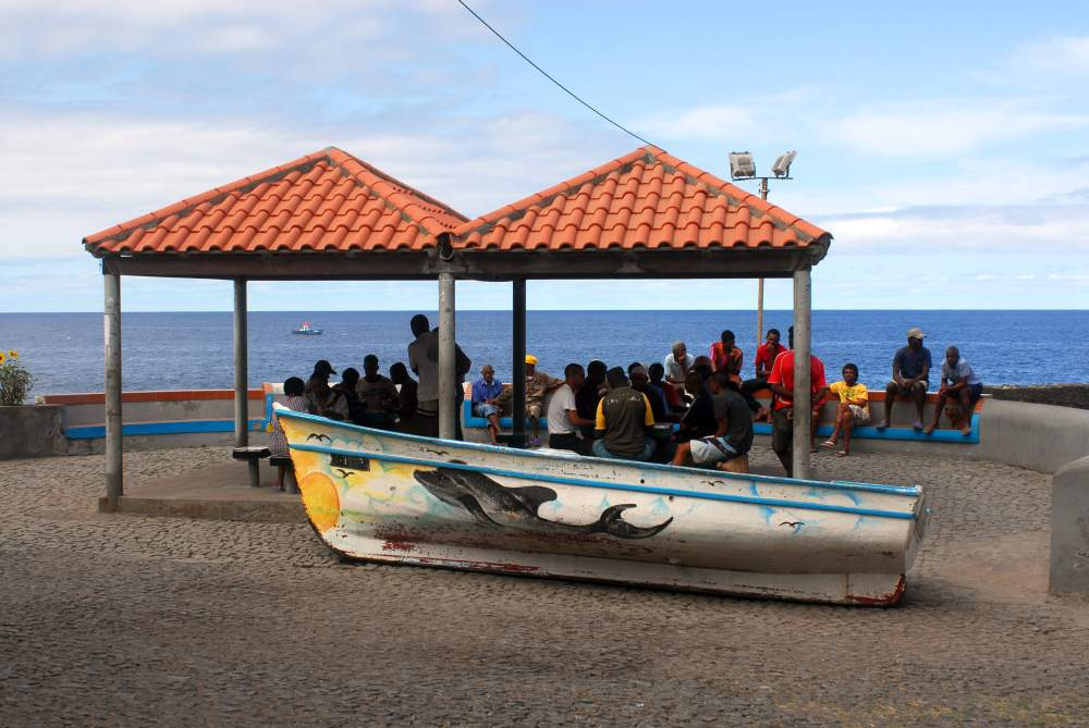 Near the harbour in Ponta do Sol