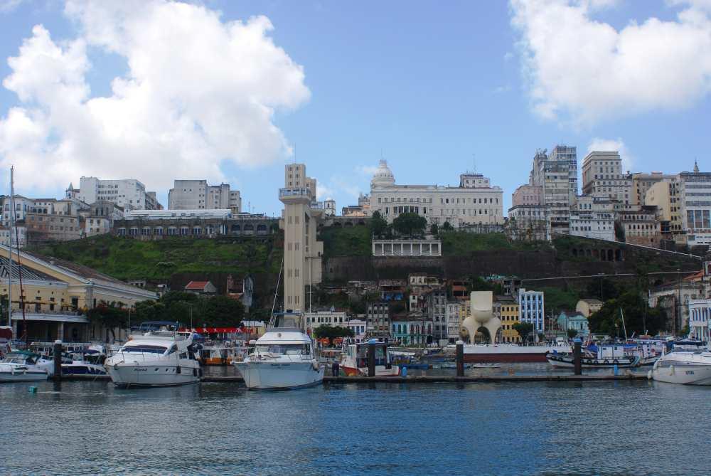 Blick auf die Cidade Alta