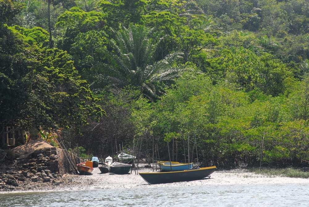 Dorf am Paraguacu