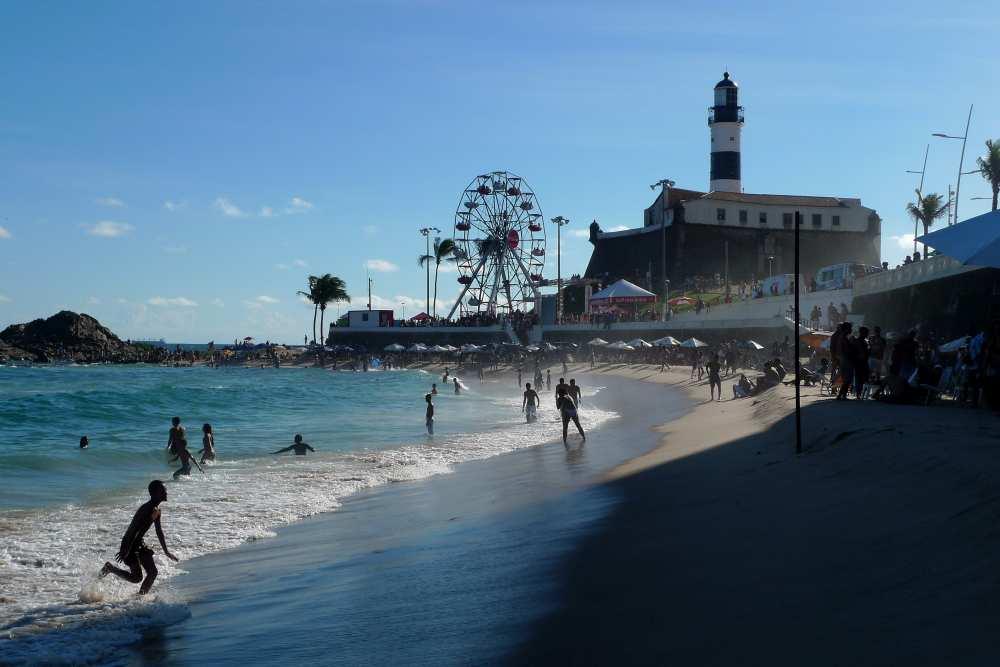 Strand in Barra