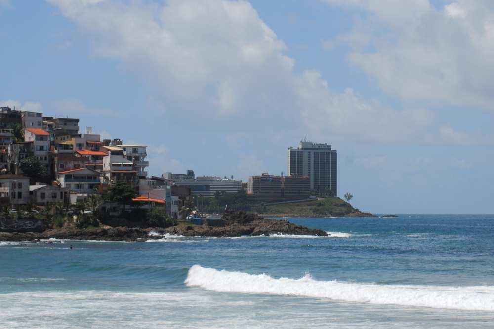 Im linken flachen großen Gebäude im Hintergtrund begann unsere erstes Brasilienabenteuer