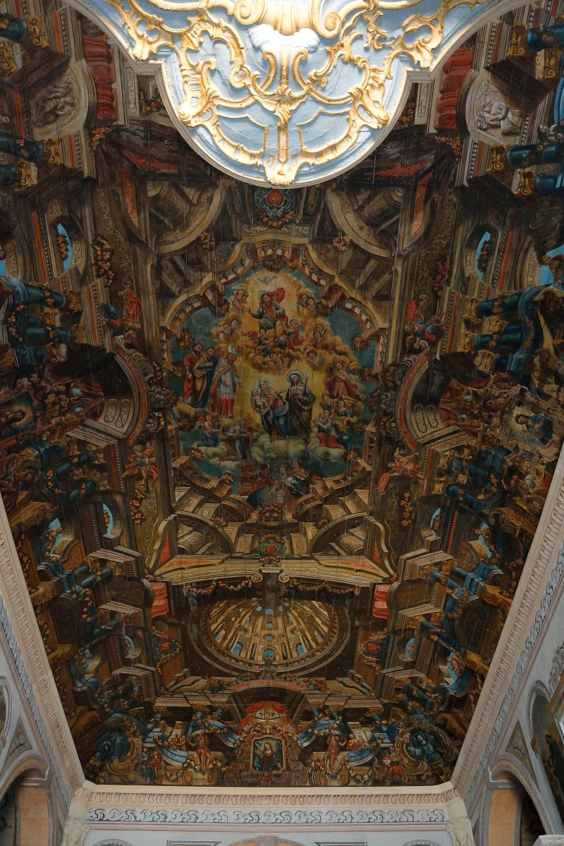 Kirchendecke in Santo Amaro