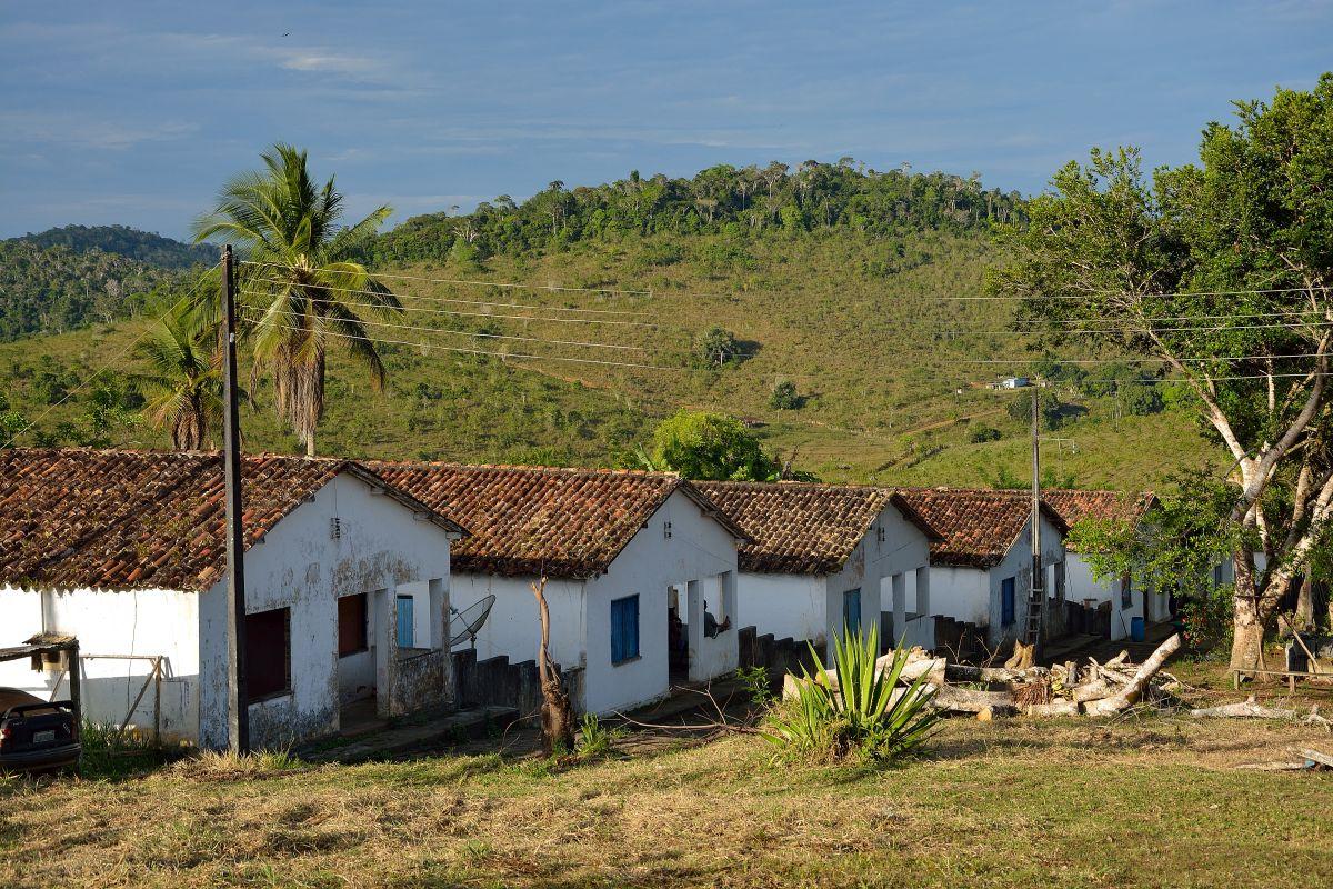 Die Häuschen der Fazenda