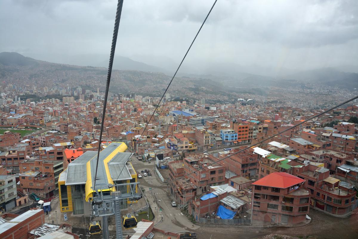 Teleferico La Paz - El Alto
