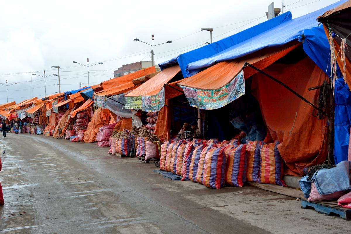 Markt in El Alto - La Paz