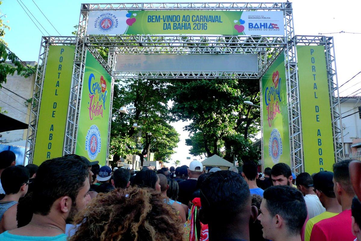 Checkpoint Eingang Karneval