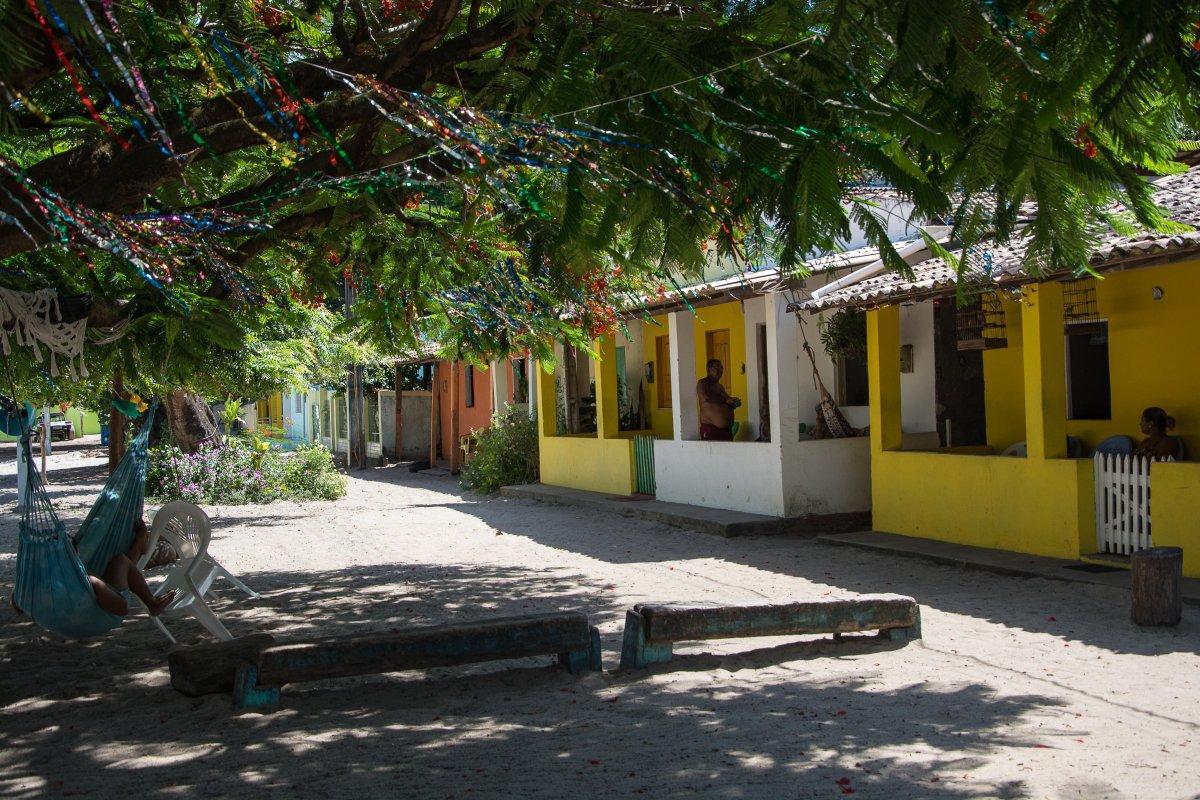 Häuser in Mangue Seco, Bahia
