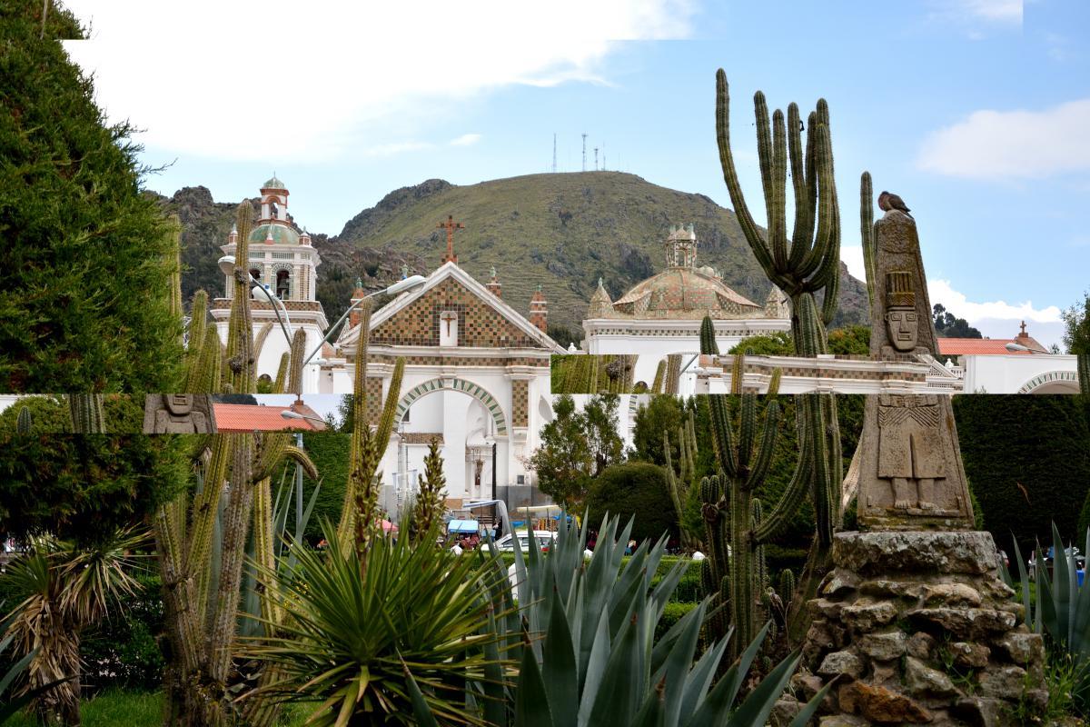 Basilika der Virgen de Copacabana, Bolivien, Titicacasee
