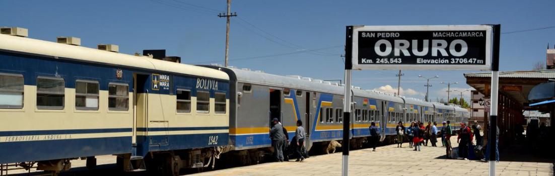 Espreso del Sur, Bahnfahrt in Bolivien