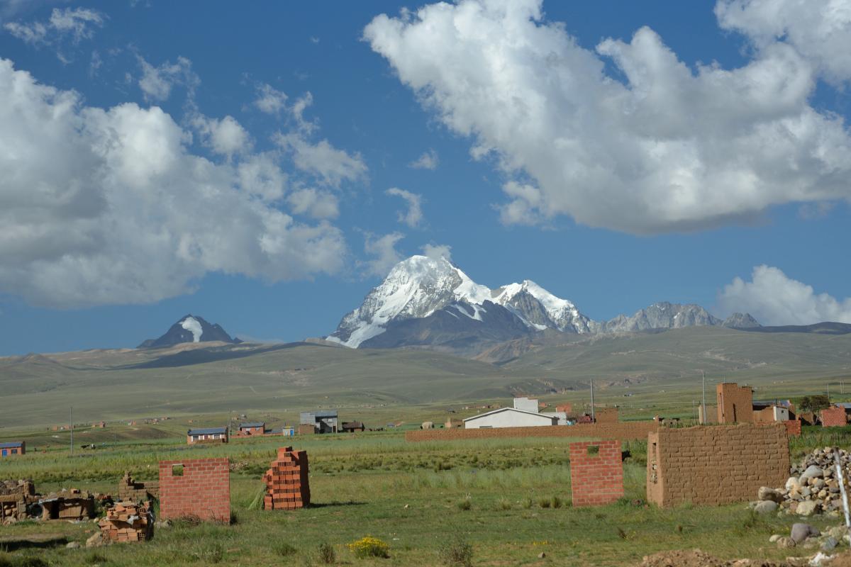 Huayna Potosi, Altiplano, Bolivien