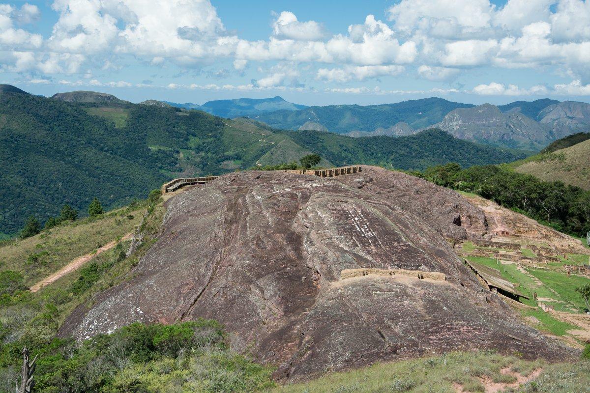 Der größte behauene Monolith der Welt - El Fuerte, Samaipata