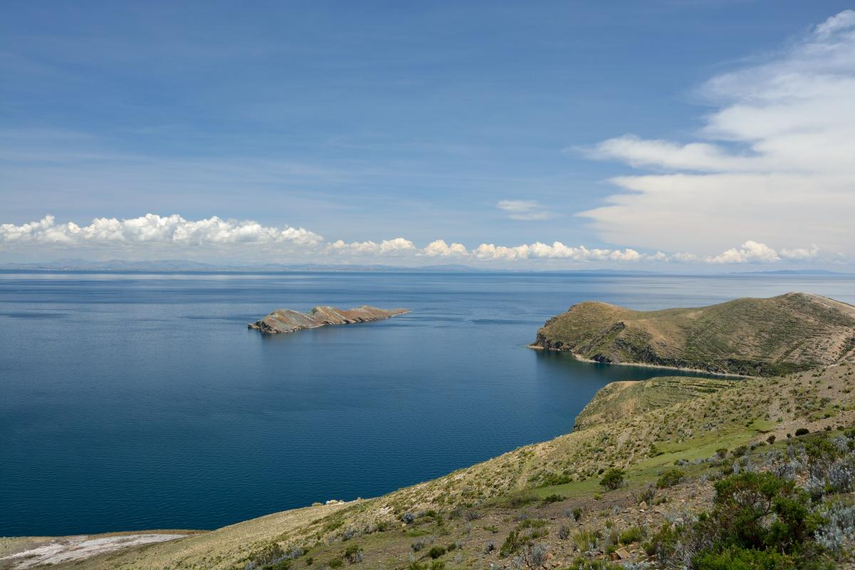 Isla del Sol, Titicacasee, Bolivien