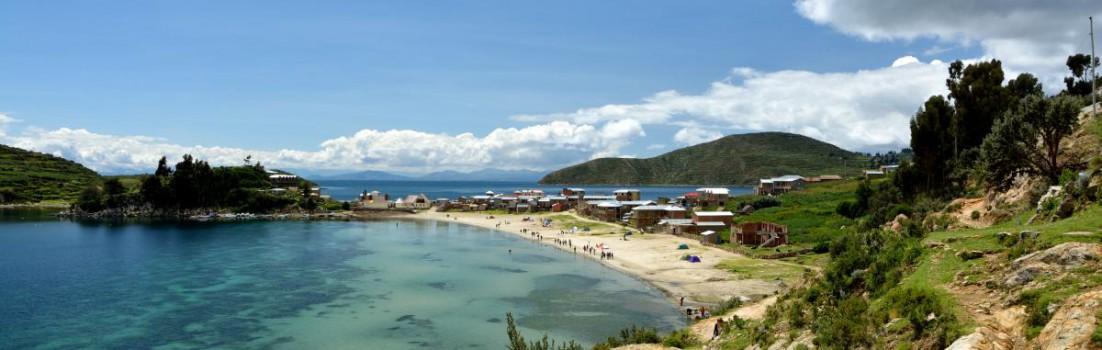 Cha'llapampa, Isla del Sol, Titicaca See, Bolivien