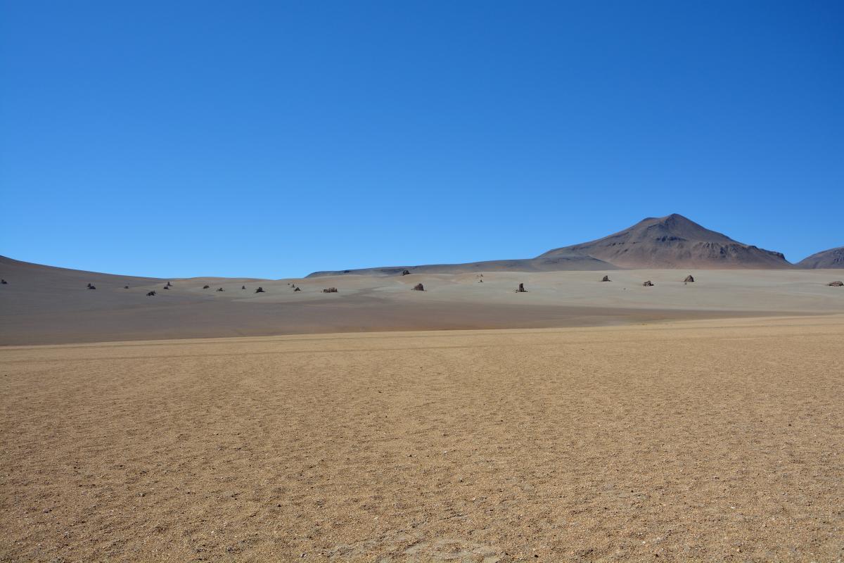 Solar de Uyuni Tour von Tupiza aus, 2. Tag: Dali Desert