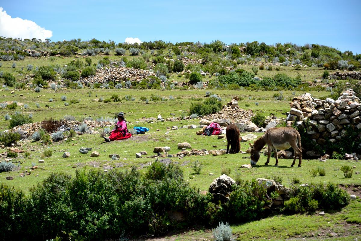 Yumani, Isla del Sol, Titicacasee