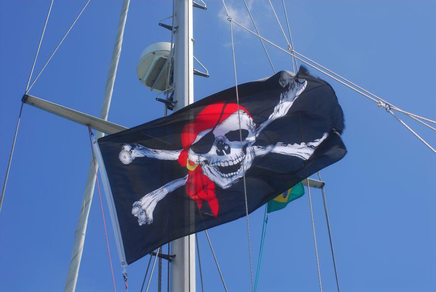 Jolly Roger auf Yemanja