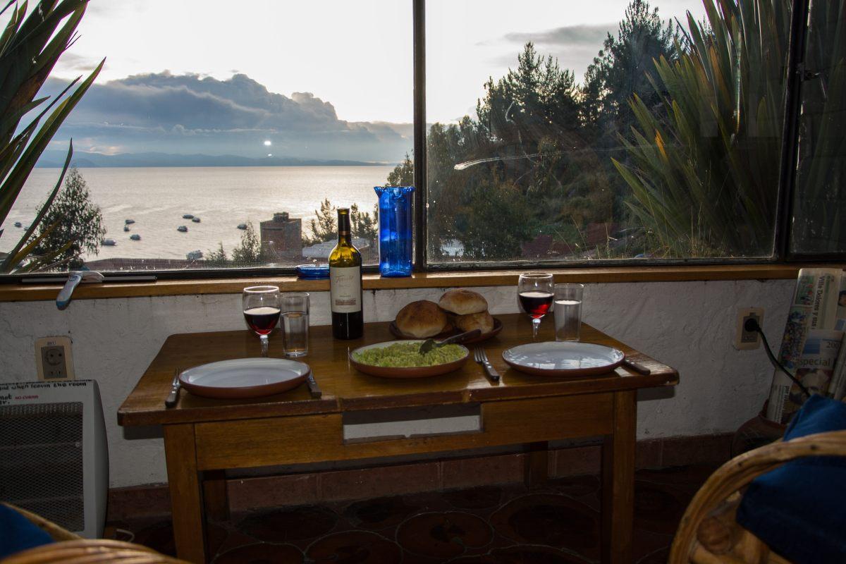 Abendessen in Copacabana