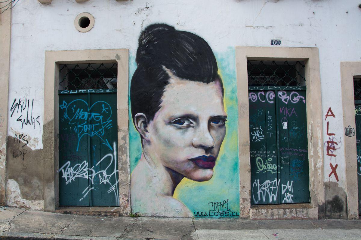 Graffiti in Olinda