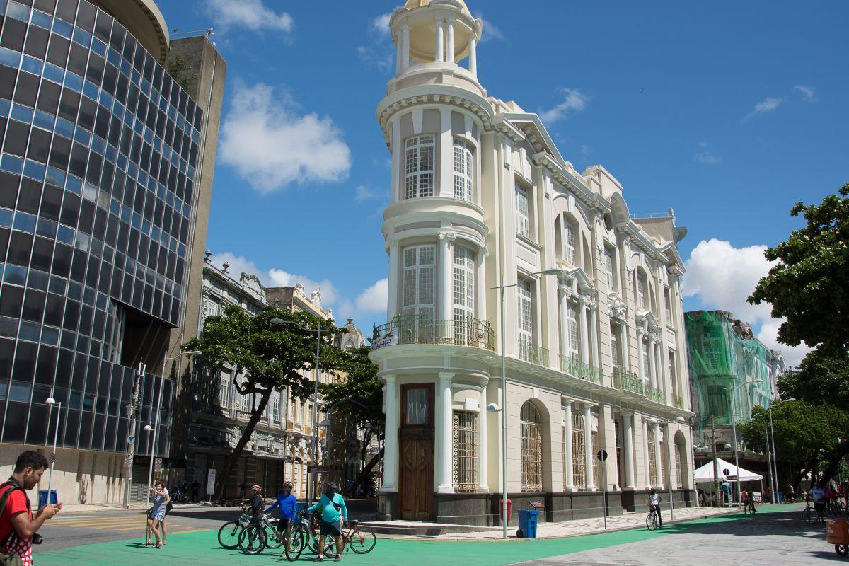 Altstadt Recife, Marco Zero