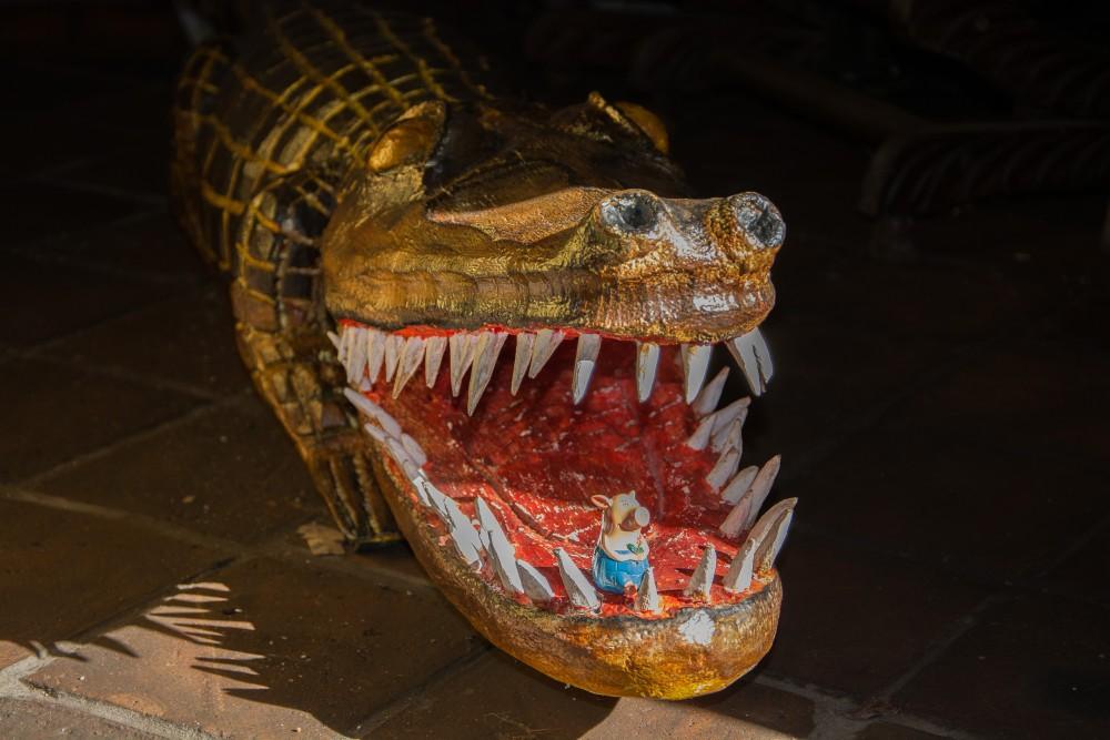 Gustav und das Krokodil