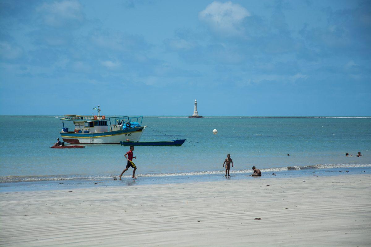 Praia do Miramar in Cabedelo