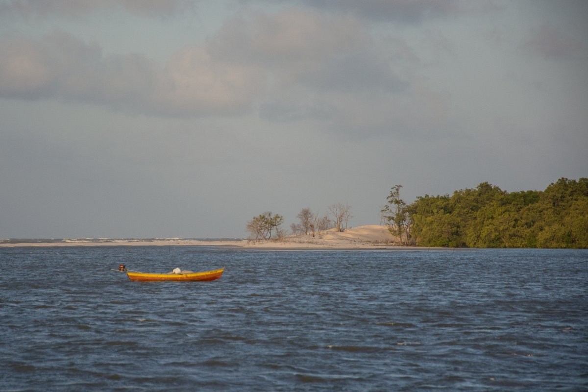 Flut auf der Ilha dos Lencois