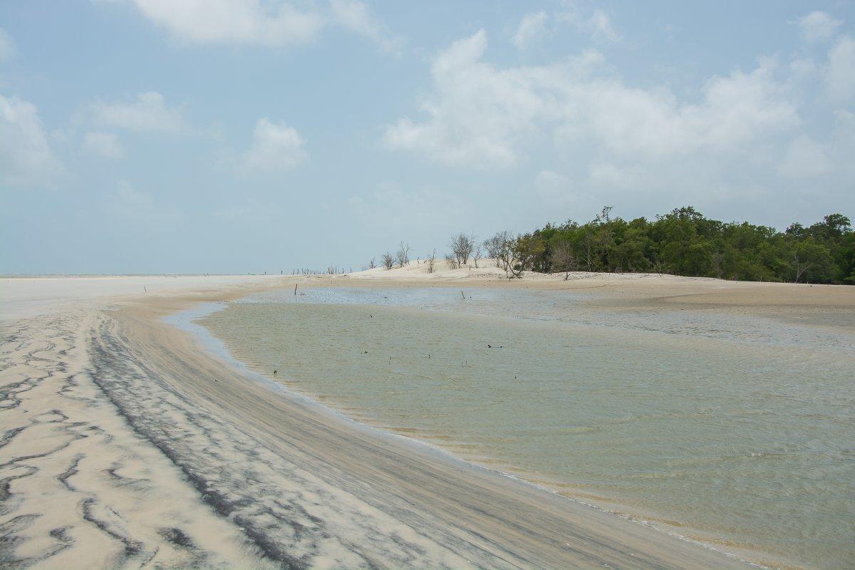 Der Fluß bei Ebbe, Ilha dos Lencois