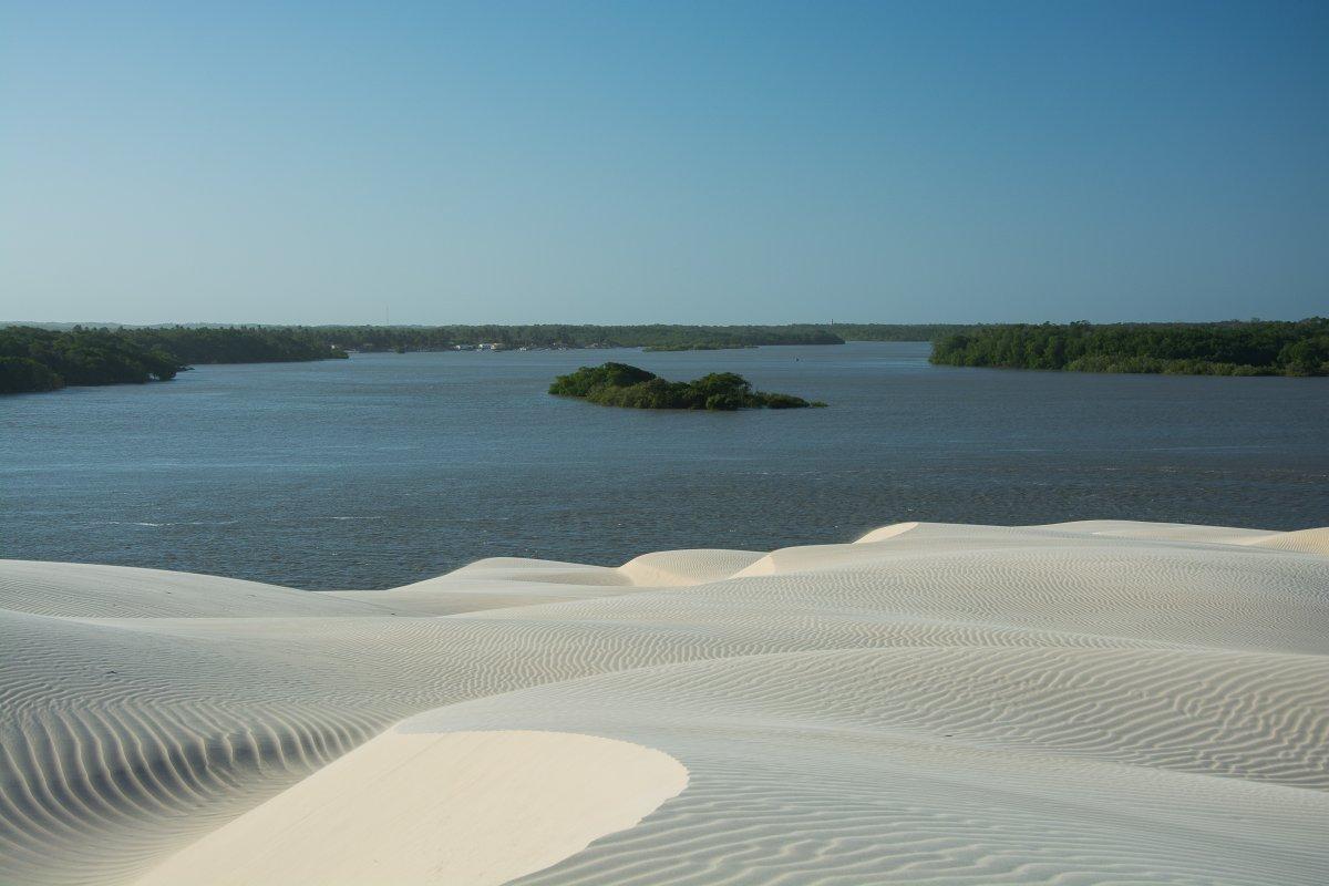 Düne auf der Ilha dos Lencois