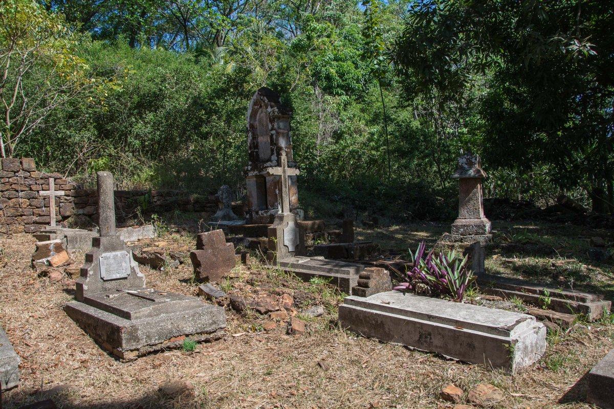 Der Friedhof der Kinder auf den Iles du Salut