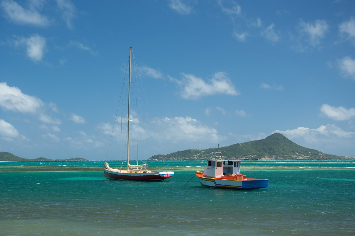 Windwards, Carriacou - Segeln mit Yemanja