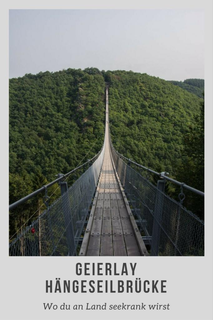 Geierlay, Deutschlands schönste Hängeseilbrücke - Segeln mit Yemanja