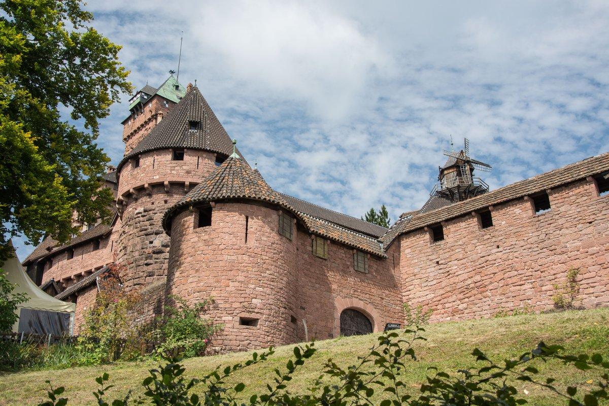 13 + 1 Dinge, die du nicht über das Elsass weißt - Hohkönigsburg - Segeln mit Yemanja