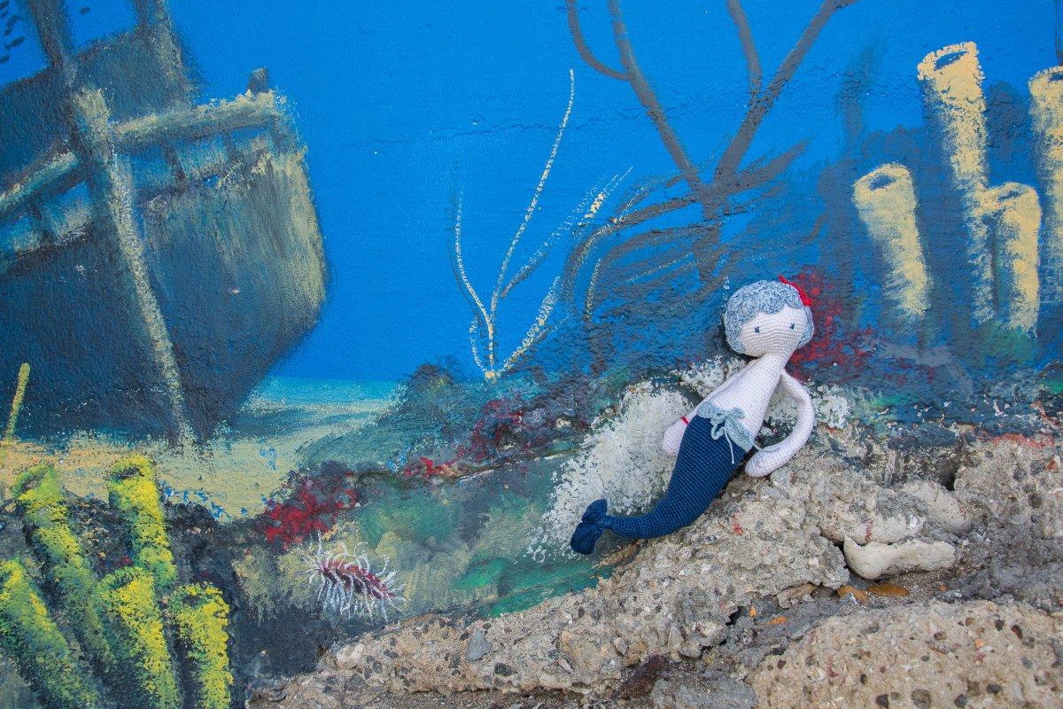 Meerjungfrau Inazia: Kunst-DIY-Challenge bis 30.1.2018 auf www.sy.yemanja.de