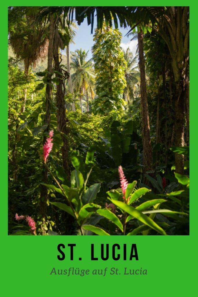 Sehenswürdigkeiten und Ausflüge auf St. Lucia