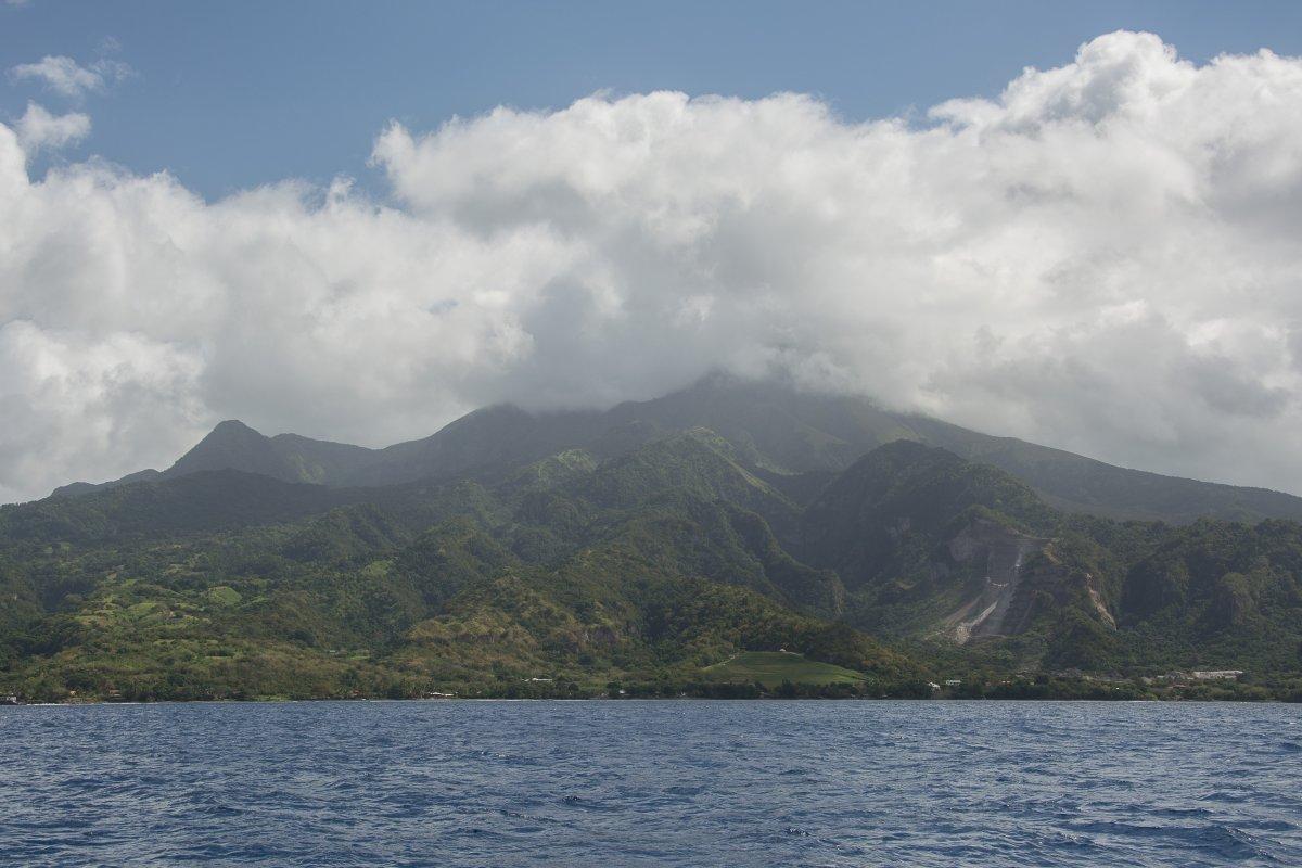 Mount Pelee, Martinique