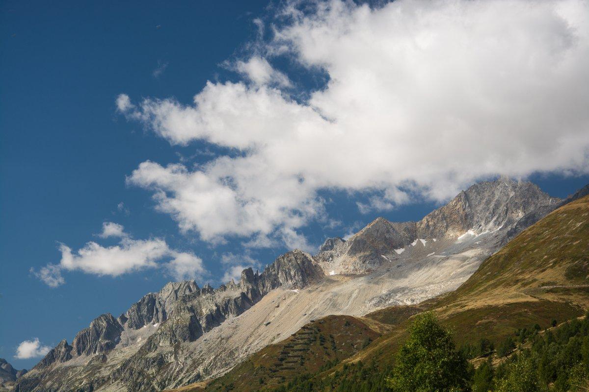 Auf der fahrt zum Gotthardpass